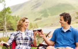 How to plan a romantic summer camping trip